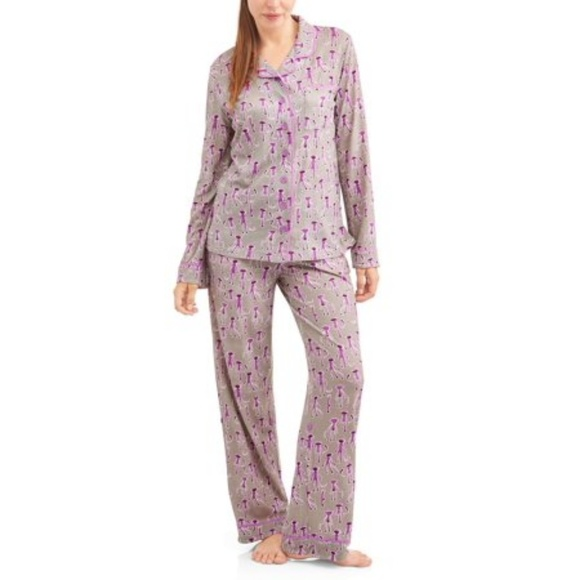 Munki Munki Sock Monkey Pajama Set Sizes  M L XL ebee1efa7